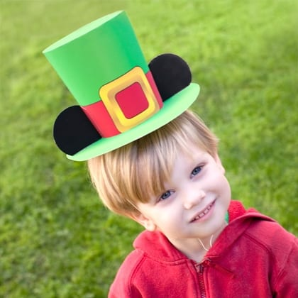 Mickey Mouse St. Patrick's Day Leprechaun Hat 1