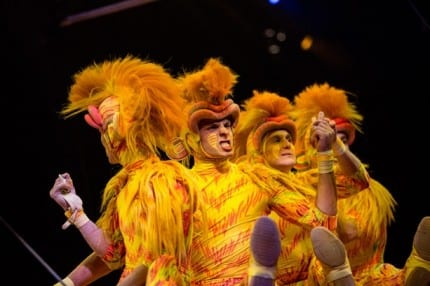 Behind the Scenes: 'Monkeying Out' with the Tumble Monkeys at 'Festival of the Lion King' 4