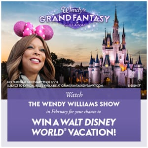 Wendy's Grand Fantasy (Disney) Giveaway, Word of the Day, day 2! 2