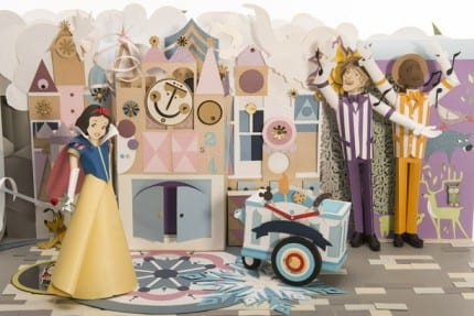 Take a 3-D Spin Around This Amazing 'Show Your #DisneySide' Paper Sculpture 1