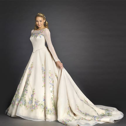 Disney 39 s fairy tale wedding group releases limited edition for Cinderella wedding dress up