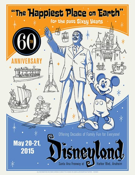 Disneyland Resort Diamond Celebration Merchandise Event Details Revealed 2
