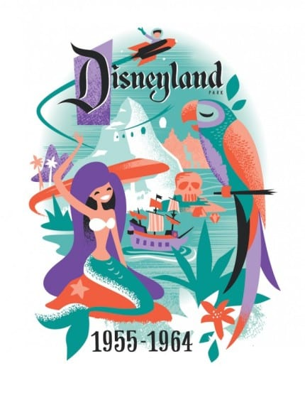 'Decades' Art Debuts for the Disneyland Resort Diamond Celebration 1