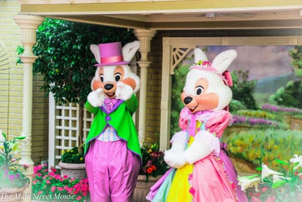 Meet Easter Bunnies and Life Sized Flowers at the Magic Kingdom this Week! 9