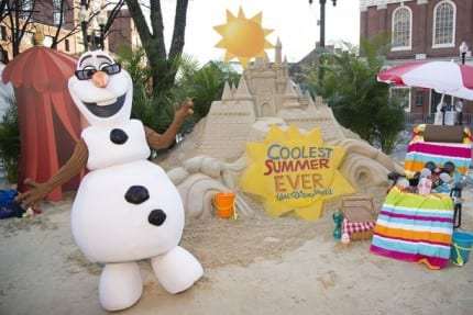 Giant Sand Castle in the Snow Announces 24-Hour Party, 'Coolest Summer Ever' at Walt Disney World Resort 17