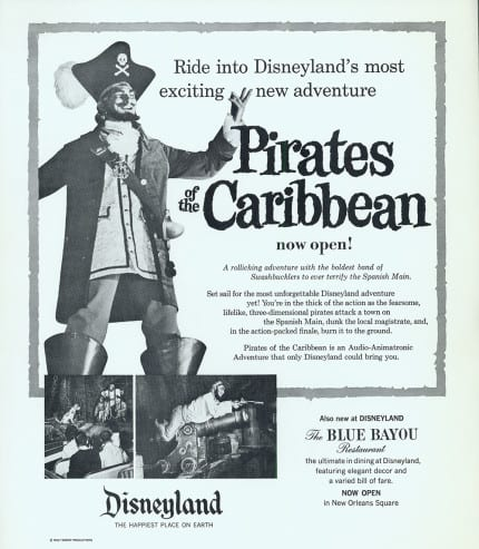 The Pirates of the Caribbean Have Been Pillaging and Plundering for 48 Years 4