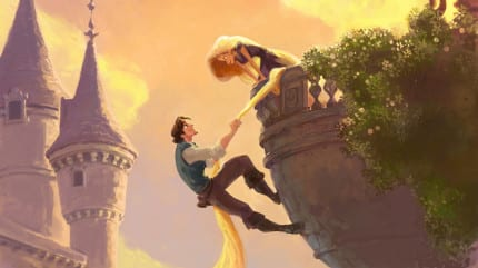 Tangled-Flynn-and-Rapunzel-Concept-Art-2