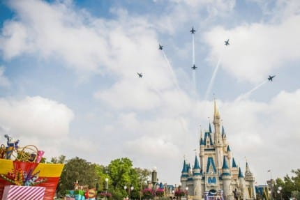 U.S. Navy Blue Angels Roar Down Main Street, U.S.A. at the Walt Disney World Resort 5