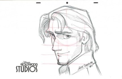 Learn to Draw: Flynn Rider from 'Tangled' at Disney's Hollywood Studios 8