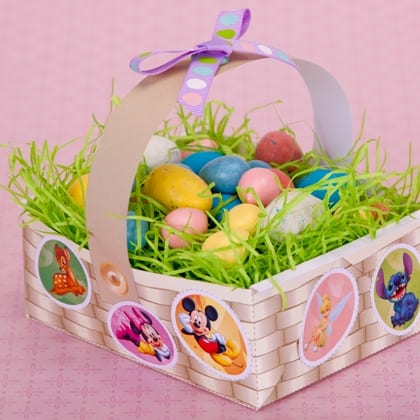 Disney Character Easter Basket ~ Cute Craft Idea! 25