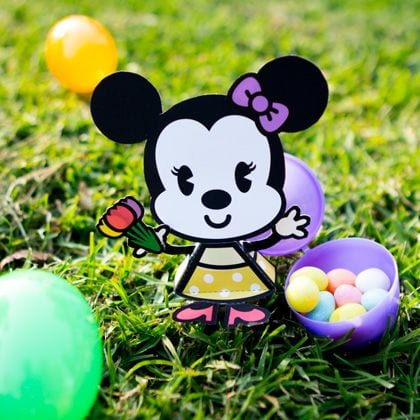 Minnie Mouse Easter Cutie Craft 20