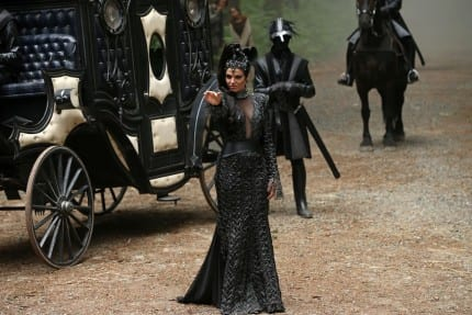 Lana Parrilla's Top 5 Evil Queen Costumes from Once Upon a Time 5