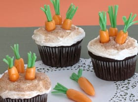 Rabbit's Spring Time Themed Cupcakes ~ Recipe! 4