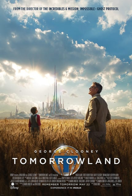 Exclusive Sneak Peek of Disney's 'Tomorrowland' Coming to Disney Parks in April 1