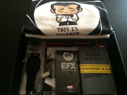 March 2015 Loot Crate Review - Covert 14
