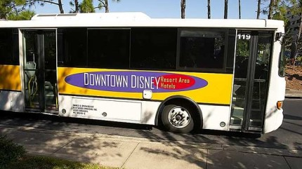 Disney Resort Buses Compared to Non-Disney Resort Buses 4