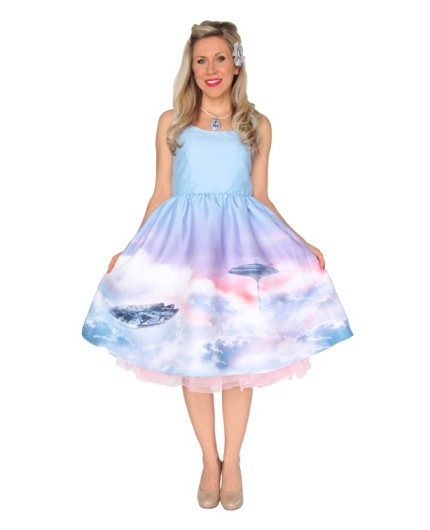 Cloud City Dress - You belong among the clouds with this dress.