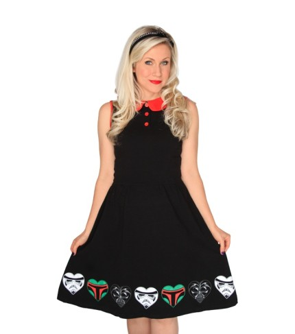 Bad Guys Dress - If you've got a soft spot for the Star Wars bad guys, this is the dress for you.