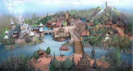 New Themes Announced for Tokyo Disney Resort Development 1