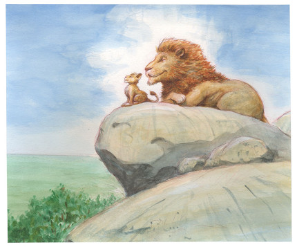 16 Stunning Pieces Of Concept Art From The Lion King