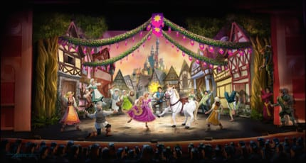'Tangled: The Musical' Coming to Disney Cruise Line 1