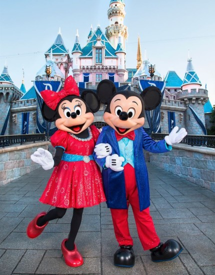 Mickey Mouse and Friends Sport Sparkling Garb for the Disneyland Resort Diamond Celebration 29