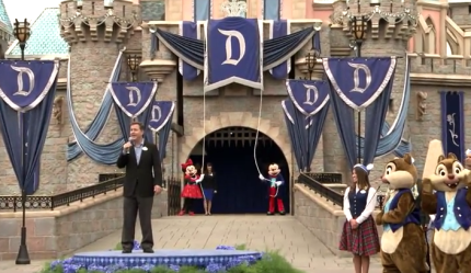Local Students Shower Disneyland Resort and Its Cast Members With Thousands of Birthday Wishes 4
