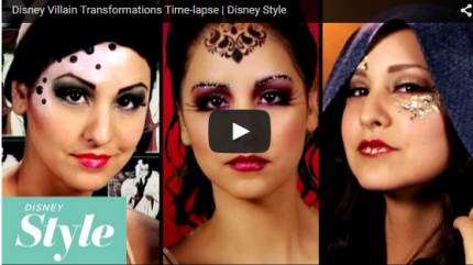 1 Model, 7 Disney Villains High Fashion Transformations 22