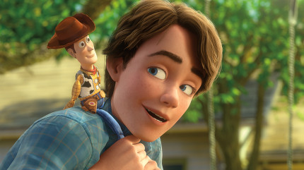 """""""TOY STORY 3"""" (L-R) Woody, Andy ©Disney/Pixar.  All Rights Reserved."""