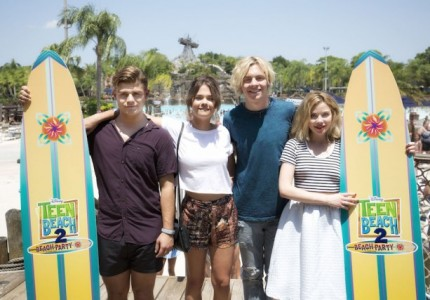 Teen Beach 2 Beach Party Brings Summer Fun To Typhoon