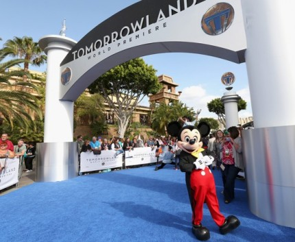 Stars Shine Bright at the Disneyland Resort for World Premiere of 'Tomorrowland' 10
