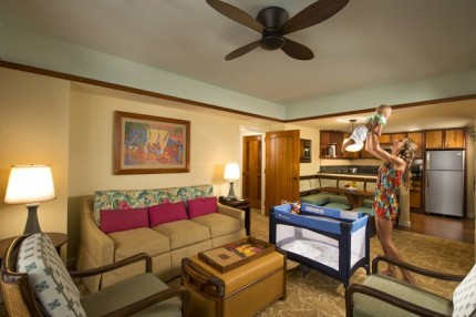 A Home Away From Home at Aulani, a Disney Resort & Spa: 2-Bedroom Villa 10