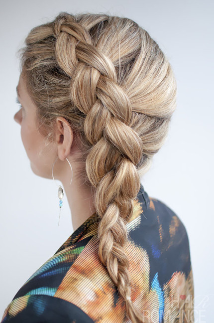 DIY Hair Braid Ideas, Inspired by Tangled! 6
