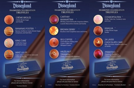 Disneyland Resort Diamond Celebration Truffles Debut at Signature Restaurants 11
