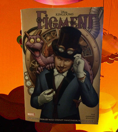 Disney Kingdoms Figment Hardcover Review 25