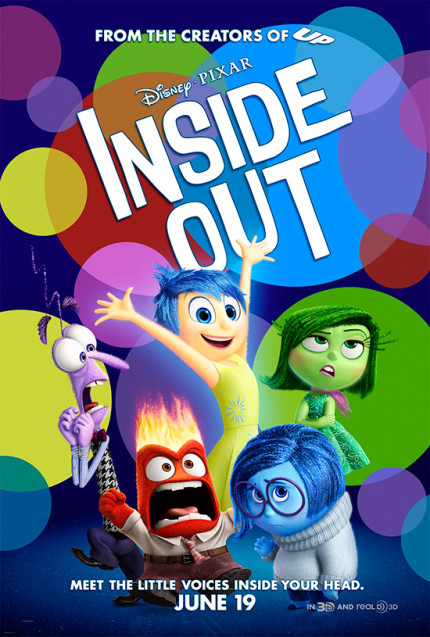 Exclusive Sneak Peek of Disney•Pixar's 'Inside Out' Coming to Epcot This Summer 1