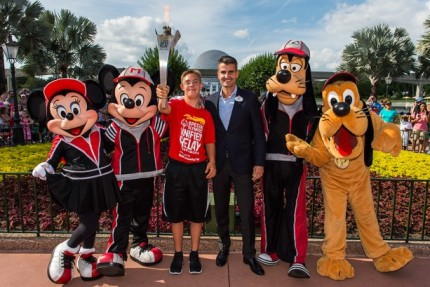 Walt Disney World Resort Hosts Special Olympics Flame of Hope 21