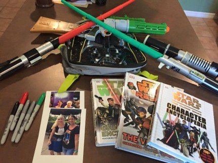 "Disney from a Teen's Perspective: Countdown to Star Wars Weekends: ""Survival Kit"" 1"
