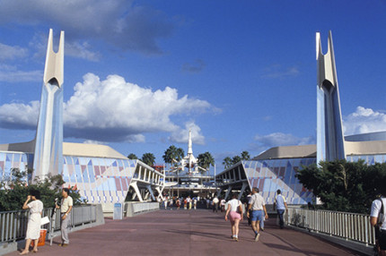 Tomorrowland at Magic Kingdom Park: Then and Now… 18