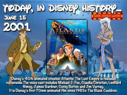 Today In Disney History ~ June 15th 5