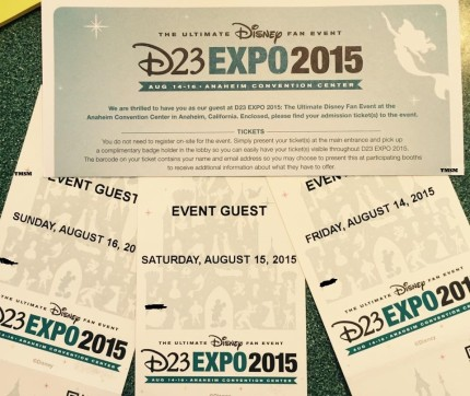 D23 EXPO Guest Packages Reveal Some Interesting Changes Coming To 2015 Expo Pass System 1