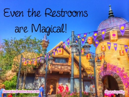 The Tangled Restrooms are the Best! #MagicKingdom 8