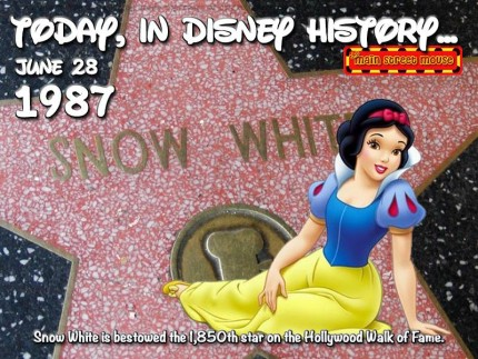 Today In Disney History ~ June 28th 7
