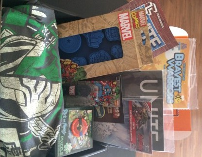 May 2015 Loot Crate Review - Unite 3