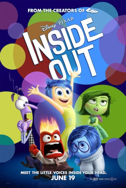See a Sneak Peek of Disney•Pixar's 'Inside Out' at Epcot 1