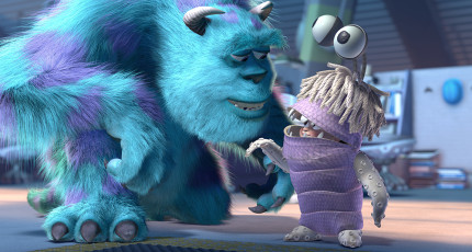 Easter Eggs From The Pixar Film Monsters, Inc. 13