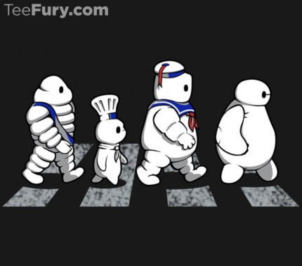 TeeFury TwoFury Competition Today Put Scrooge McDuck Against Baymax and his Friends 2