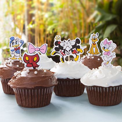 Mickey Mouse & Friends Cupcake Toppers 5