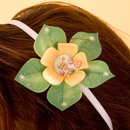 Disney Fairy Flower Headband ~ Make your own! 7