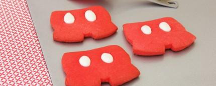 Mickey Mouse Shorts Sugar Cookies 9